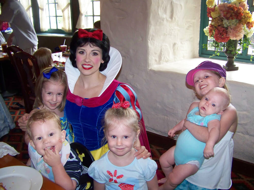 disney world vacation tips for large families