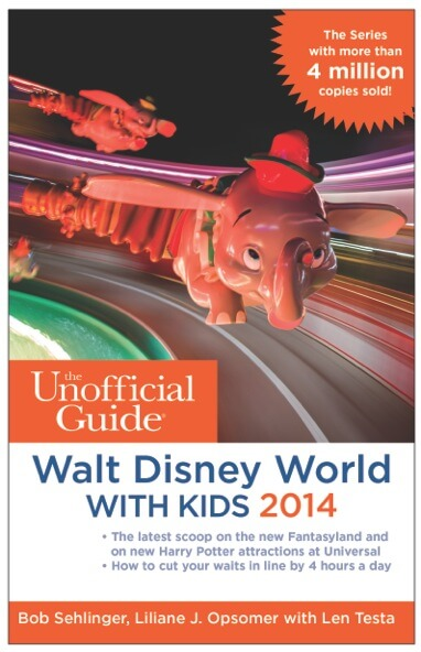 Weekly Giveaway: Win the Unofficial Guide to Walt Disney World With Kids 2014