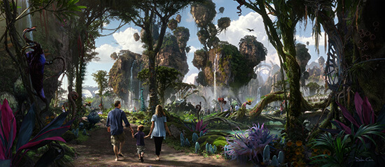 AVATAR-Inspired Land to Open in 2017 at Disney's Animal Kingdom