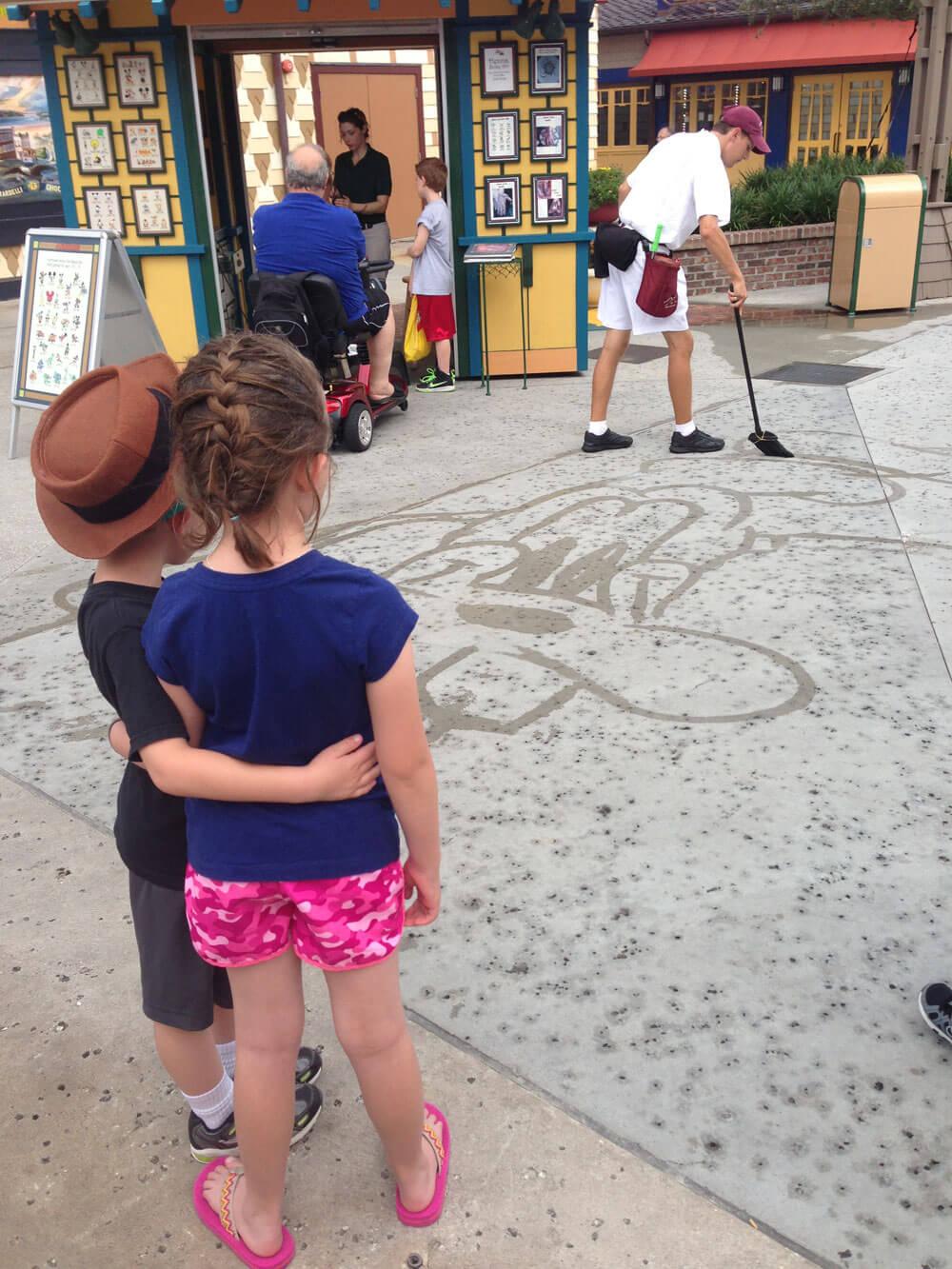 Downtown Disney art