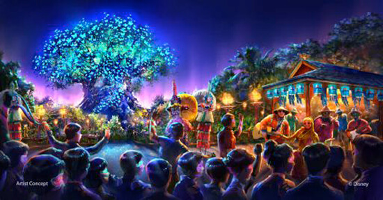 Disney's Animal Kingdom nighttime spectacular