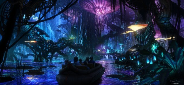 Avatar Land rendering