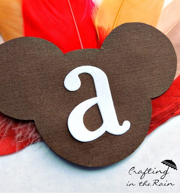 Mickey Thanksgiving craft