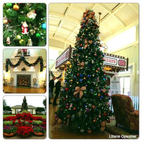 disneys boardwalk inn disney world resort decorations - Disney Christmas Trees