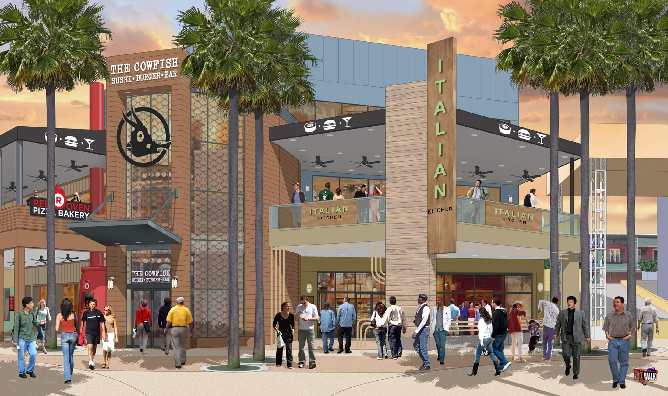 Theme Park News: Universal Unveils 8 New Venues for CityWalk, a New Harry Potter Restaurant