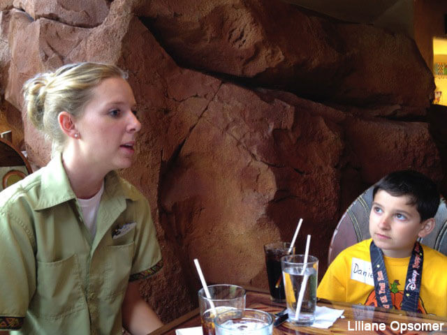 lunch with an animal specialist at Sanaa