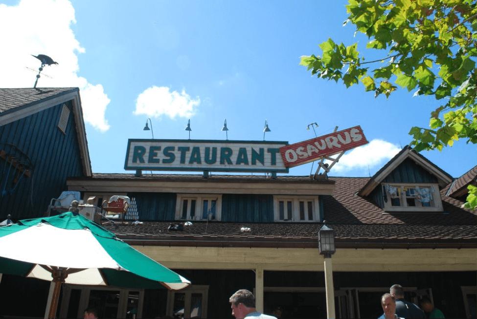 Restaurant OSaurus Disney's Animal Kingdom
