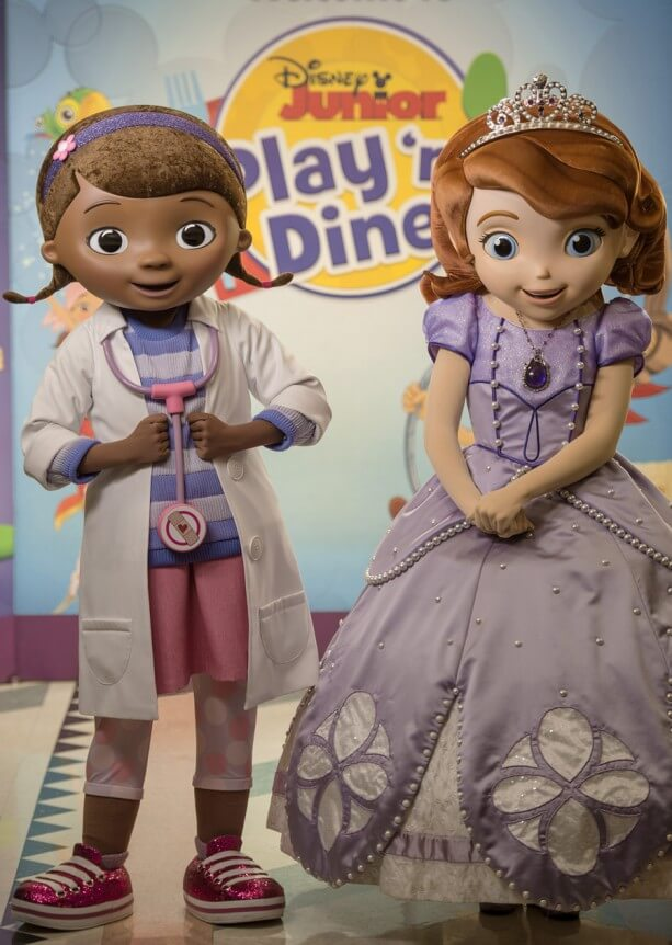 Sofia the First, Doc McStuffins Make Character Dining Debuts at Disney World