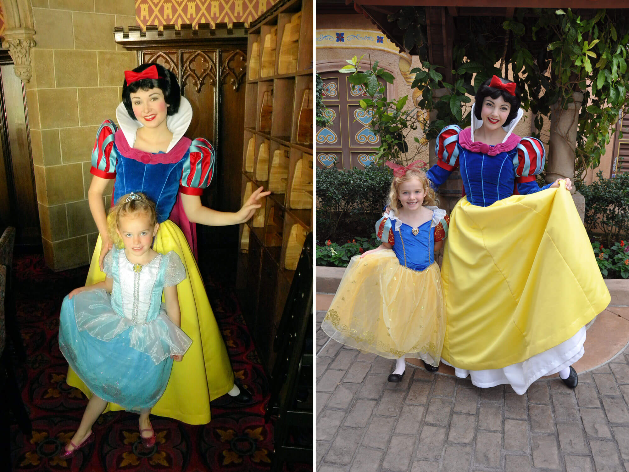 Disney world character dining the pros and cons plus photo tips snow white character dining m4hsunfo