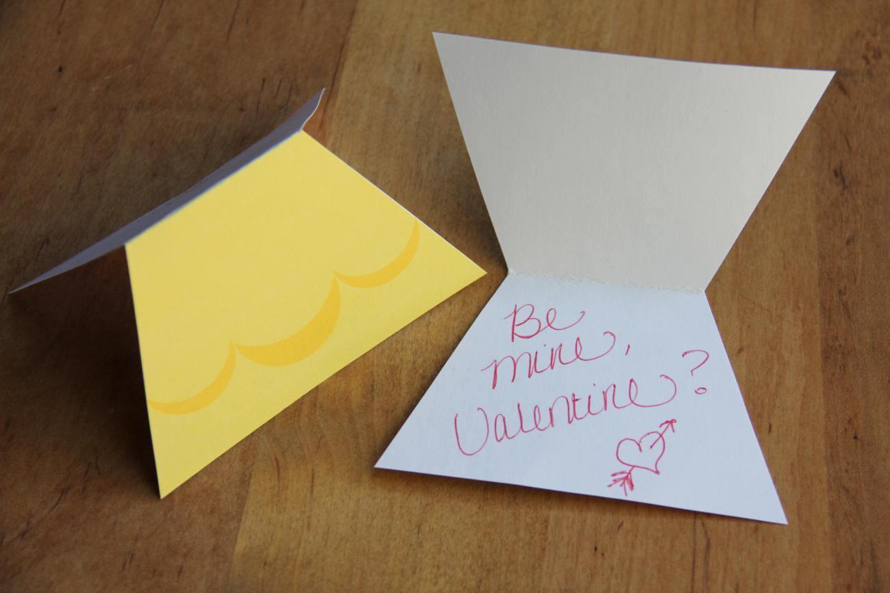 Disney princess Valentine cards