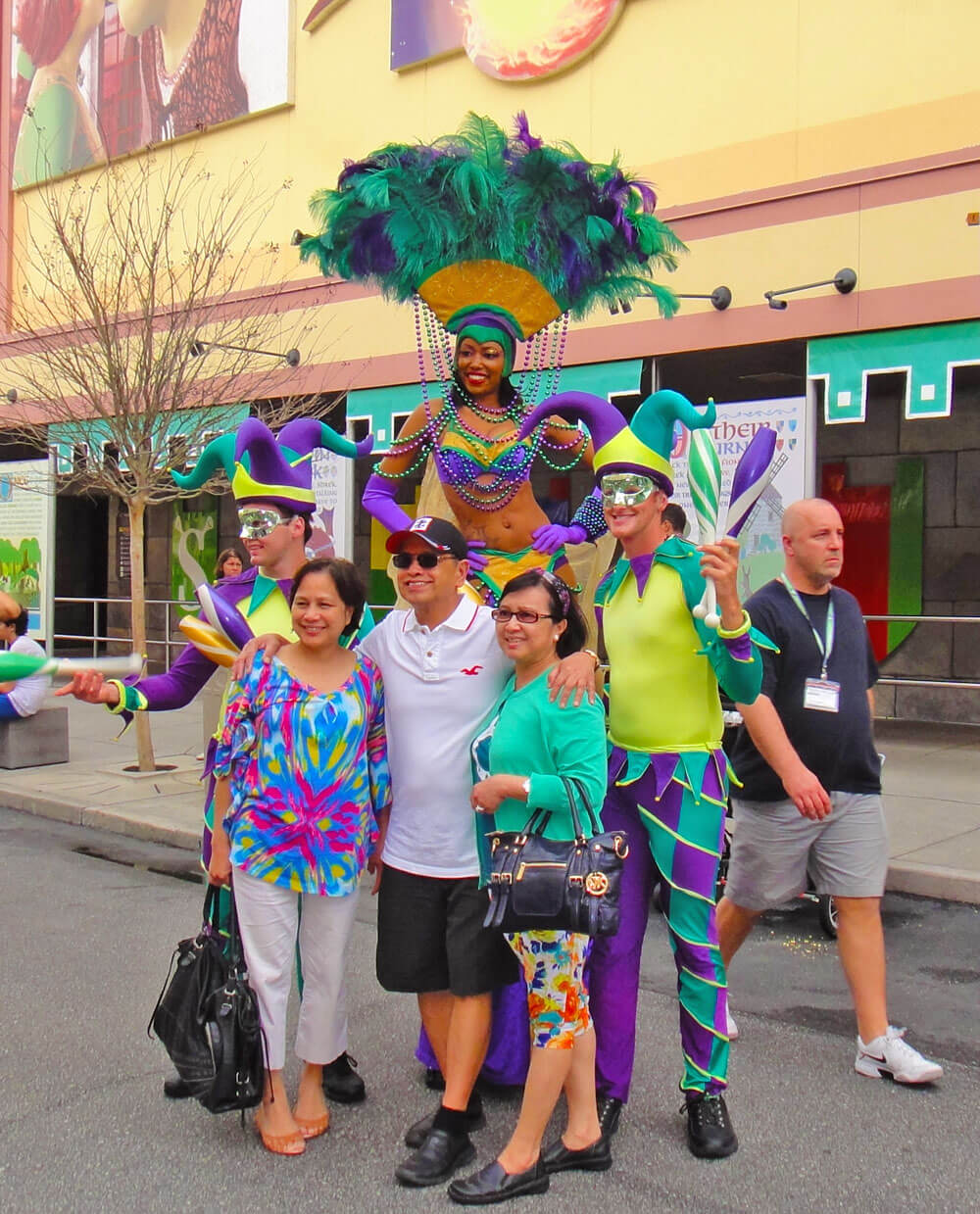 Disney World in April - Universal Mardi Gras 2014