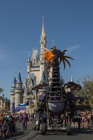 Disney Festival of Fantasy Dragon