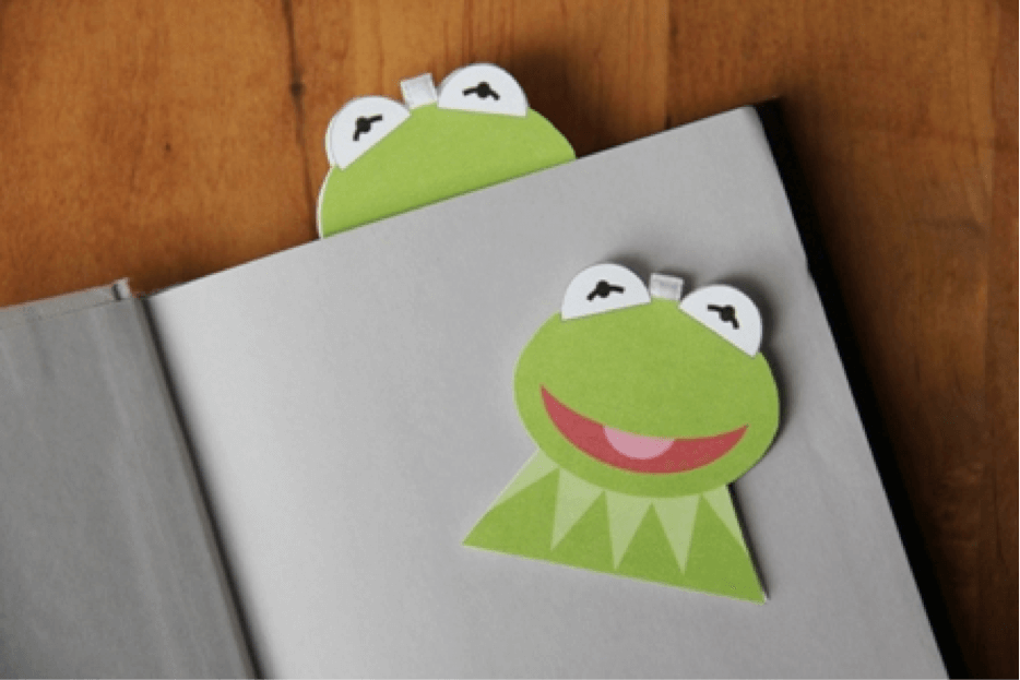 Kermit the Frog craft