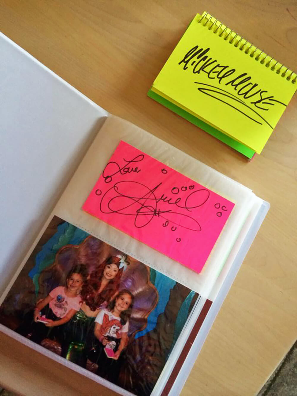 Top 10 Disney World Character Autograph Ideas - Autograph Album