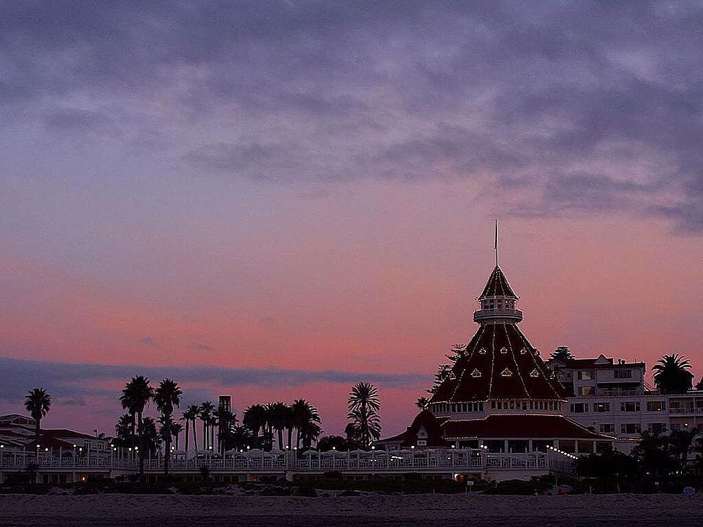 Where to stay in San Diego Hotel del Coronado