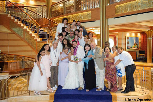 A Disney Cruise Wedding On Castaway Cay Sailing Into