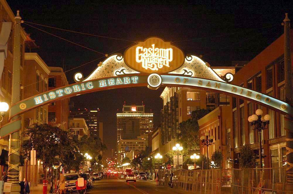 Where to stay in San Diego - Gaslamp Quarter