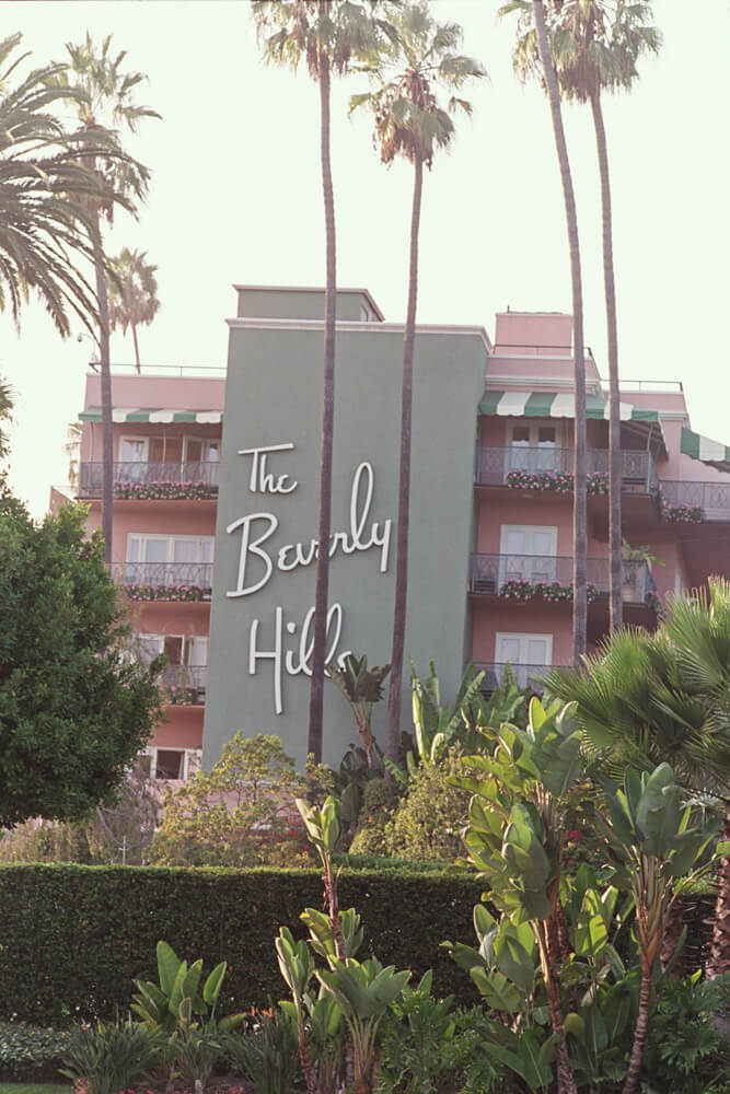 Where to stay in Los Angeles - The Beverly Hills Hotel