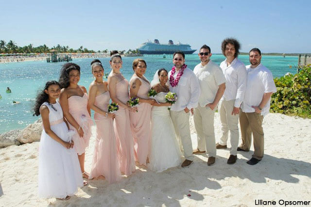 Disney Cruise Wedding | A Disney Cruise Wedding On Castaway Cay Sailing Into Happily Ever After