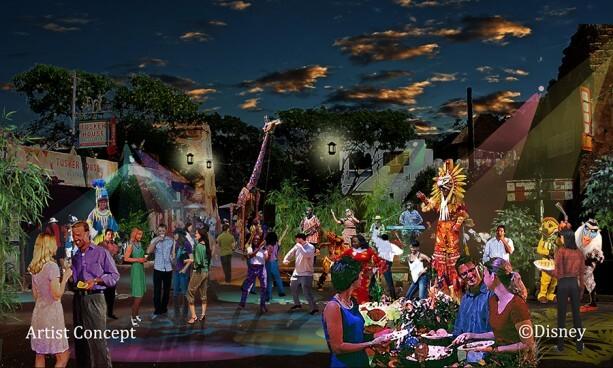 Disney's Animal Kingdom night show