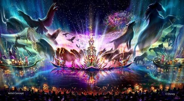 Disney's Animal Kingdom night show - Rivers of Light