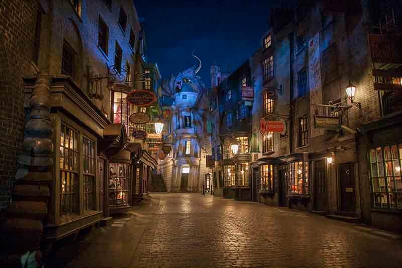A Peek Inside Harry Potter and Escape from Gringotts