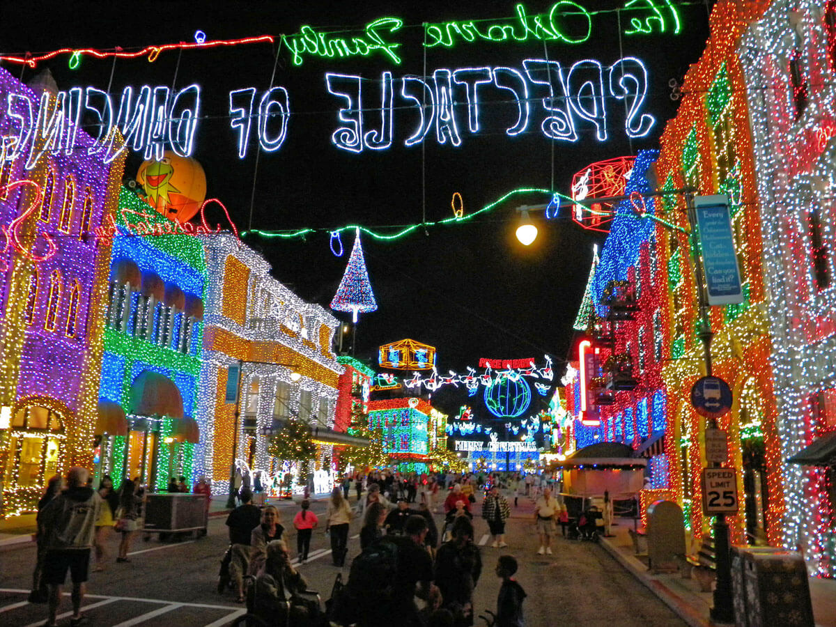 Optimize Disney World Vacation - Osborne Family Spectacle of Dancing Lights
