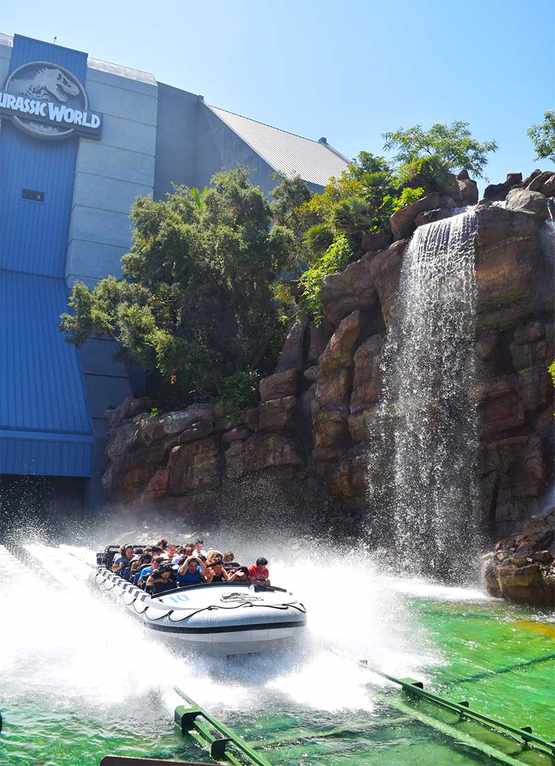 Not-to-Miss Universal Studios Hollywood Attractions and Shows - Jurassic World