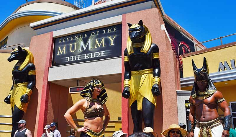 Not-to-Miss Universal Studios Hollywood Attractions and Shows - Revenge of the Mummy