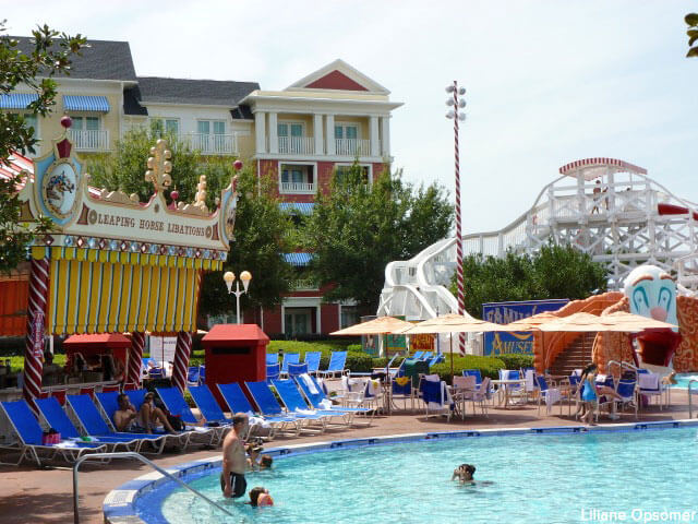 Disney World Places To Cool Off Boardwalk Hotel Pool