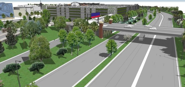 Downtown Disney Construction Includes New 1-4 Interchange