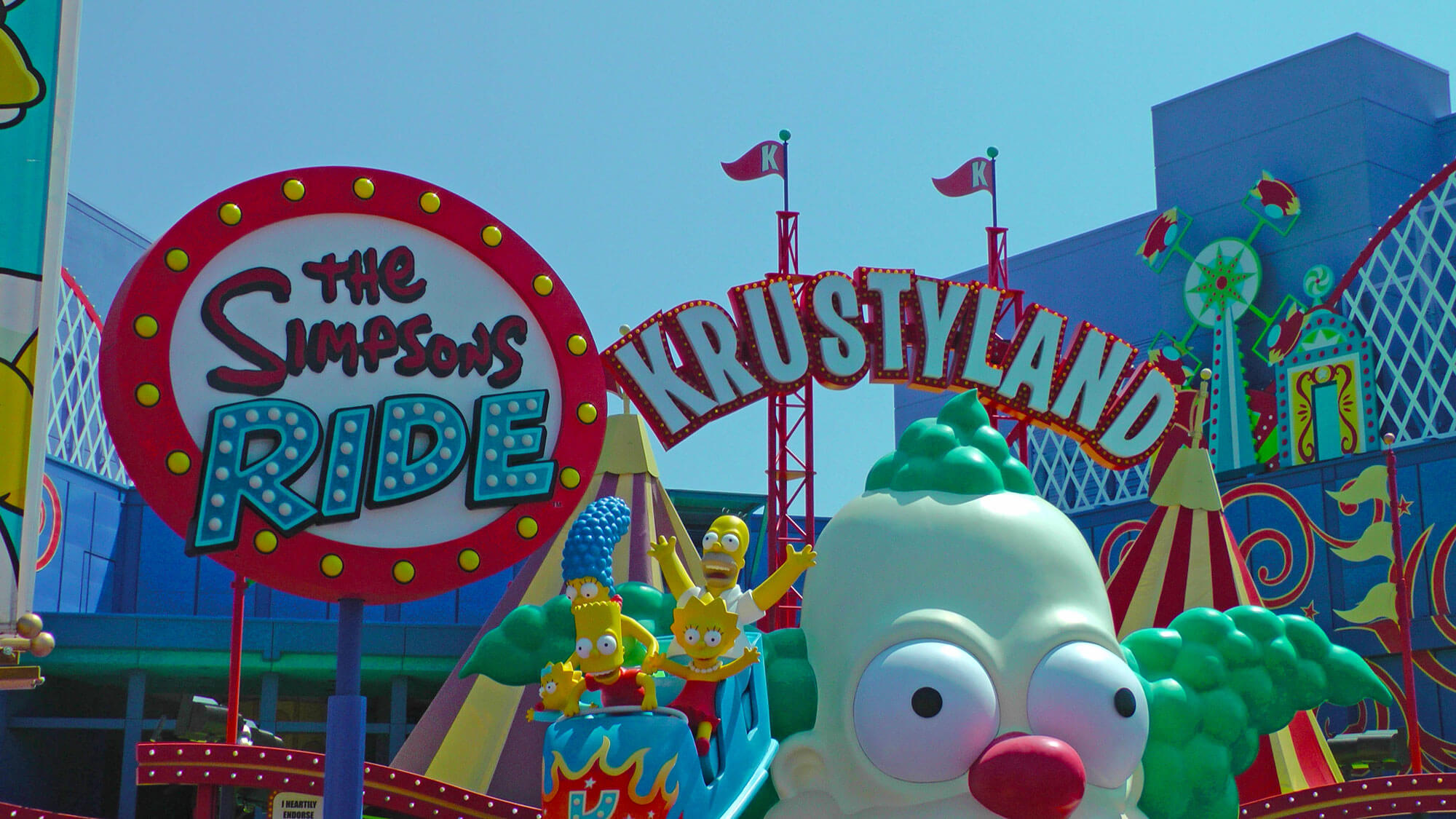 Not-to-miss Universal Studios Hollywood Attractions - The Simpsons Ride