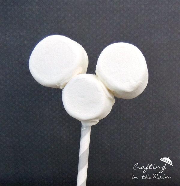 Mickey marshmallow pops