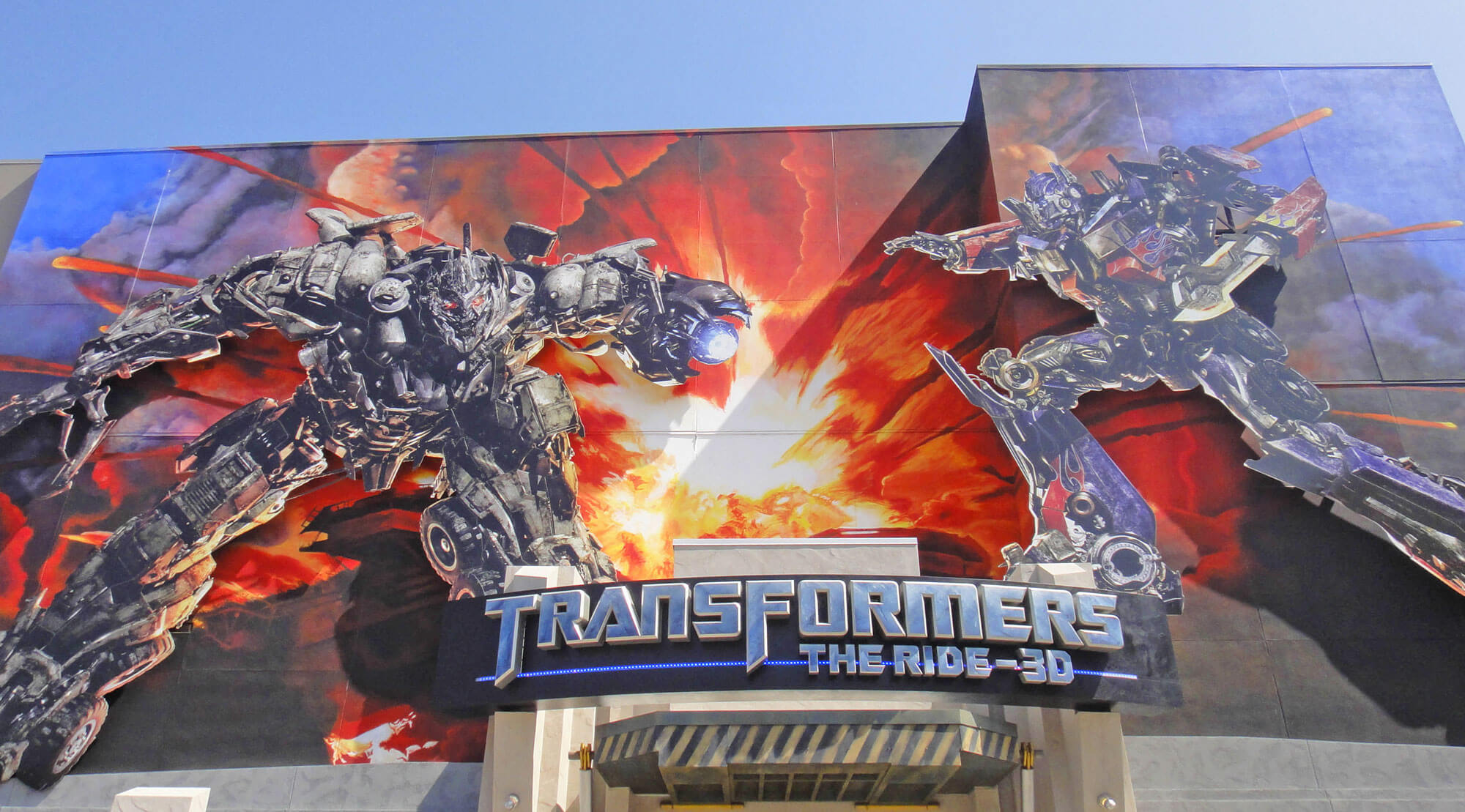 Not-to-Miss Universal Studios Hollywood Attractions and Shows - Transformers - The Ride 3D