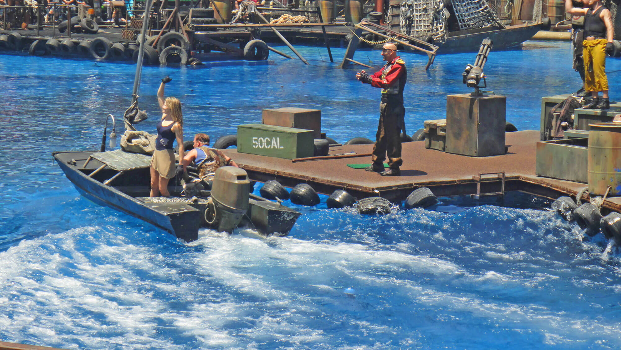 Not-to-Miss Universal Studios Hollywood Attractions - Waterworld