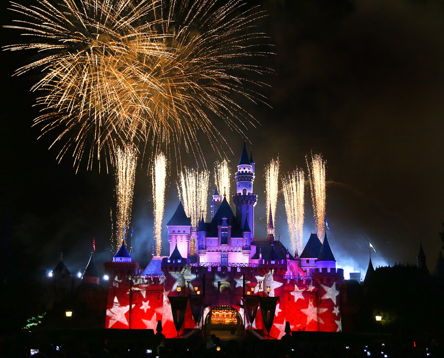 Disneyland Events in 2019 and 2020 - 4th of July Fireworks