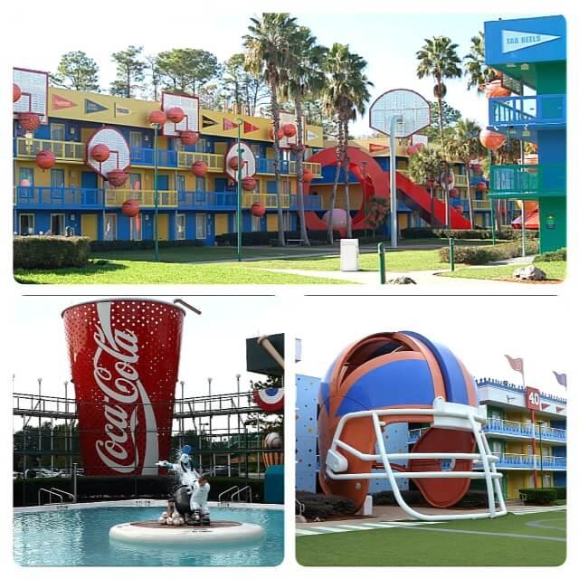 Disney's value resorts - All-Star Sports
