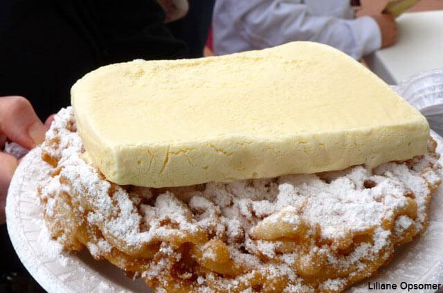 Favorite Disney World snack - funnel cake