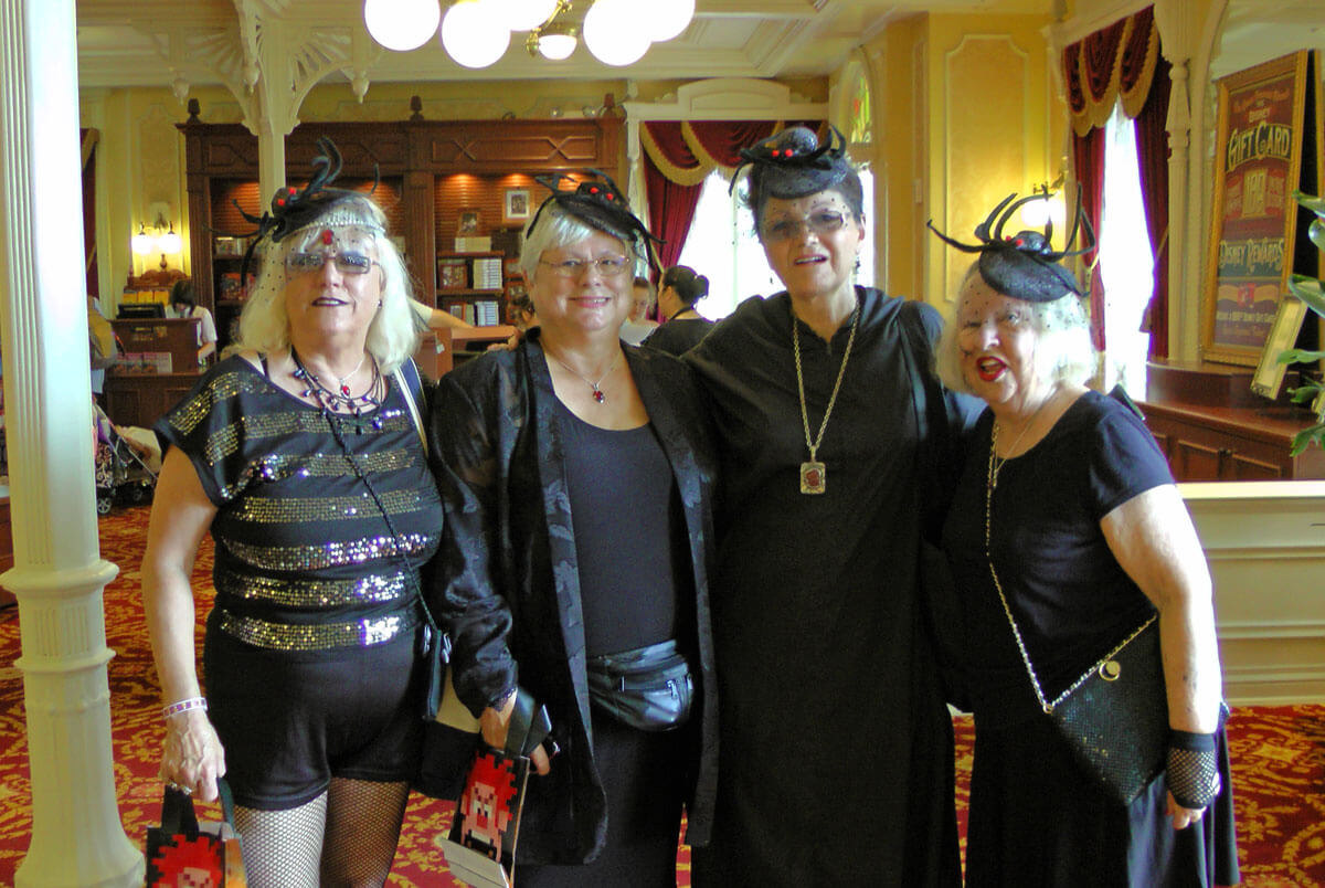 Mickey's Not So Scary Halloween Party 2015 - black widows