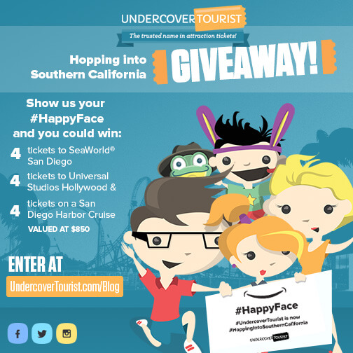 Undercover Tourist Hopping Into Southern California Giveaway
