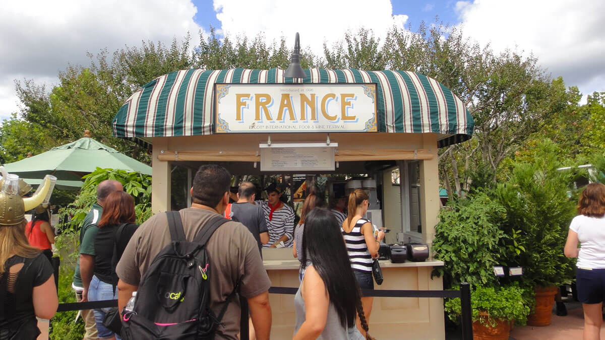 Epcot Food and Wine 2016