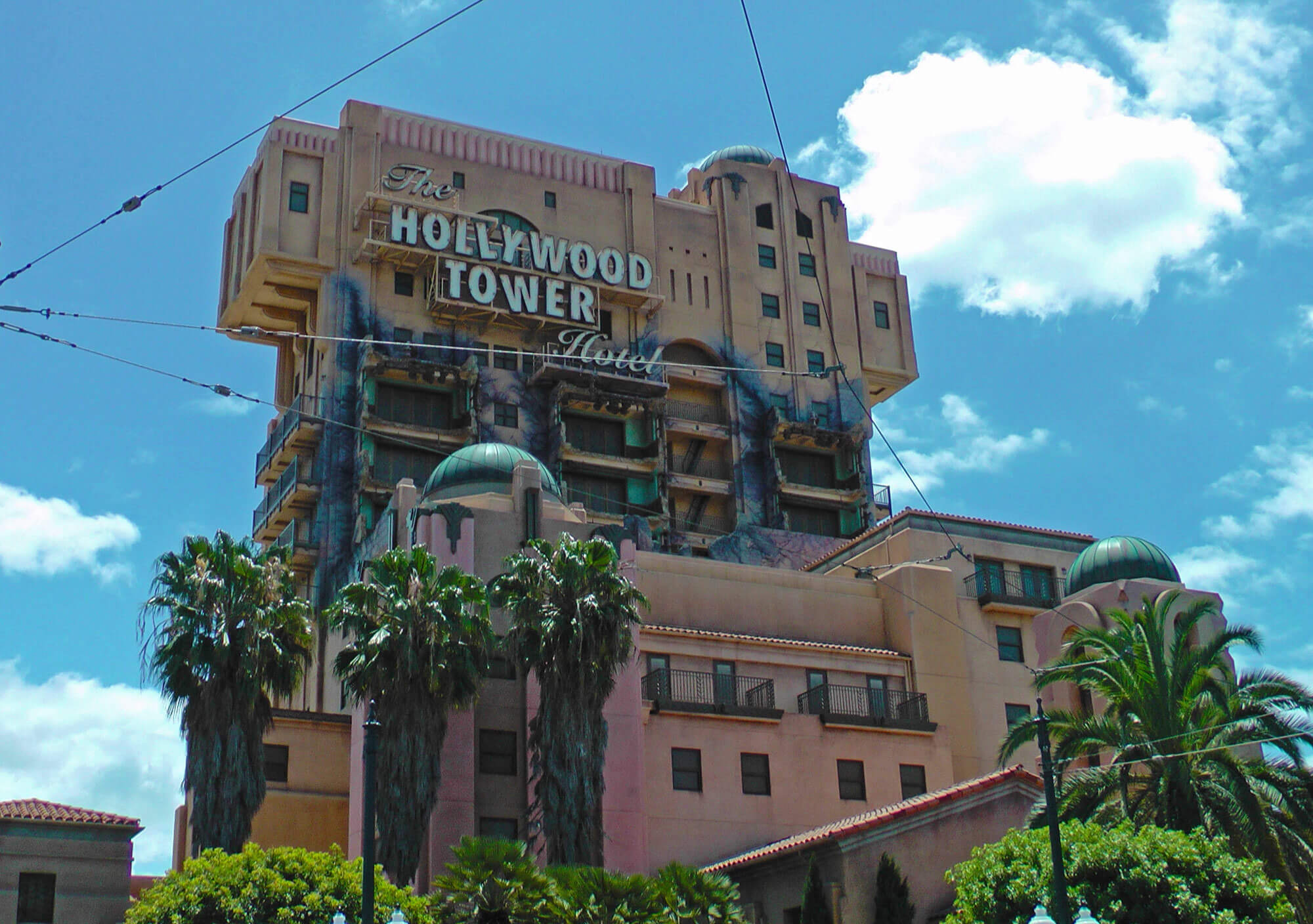 Disneyland Scary Rides - The Twilight Zone Tower of Terror