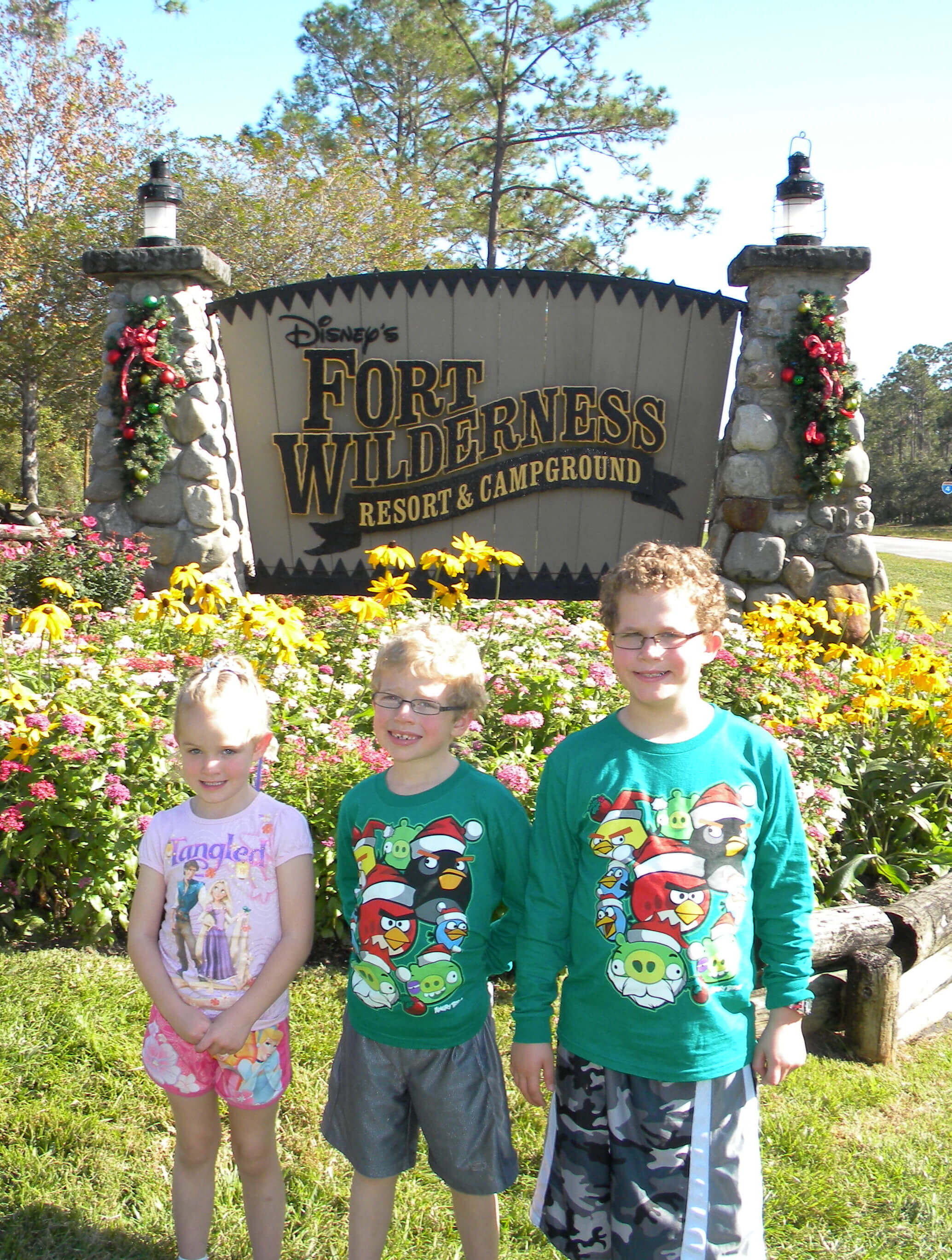 Disney Campground - Fort Wilderness camping