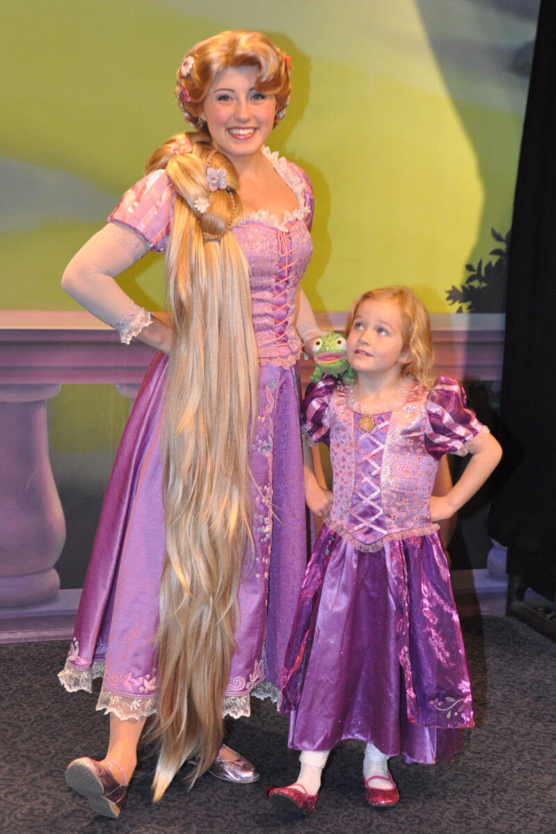 Dressing Your Daughter As a Princess at Disney World