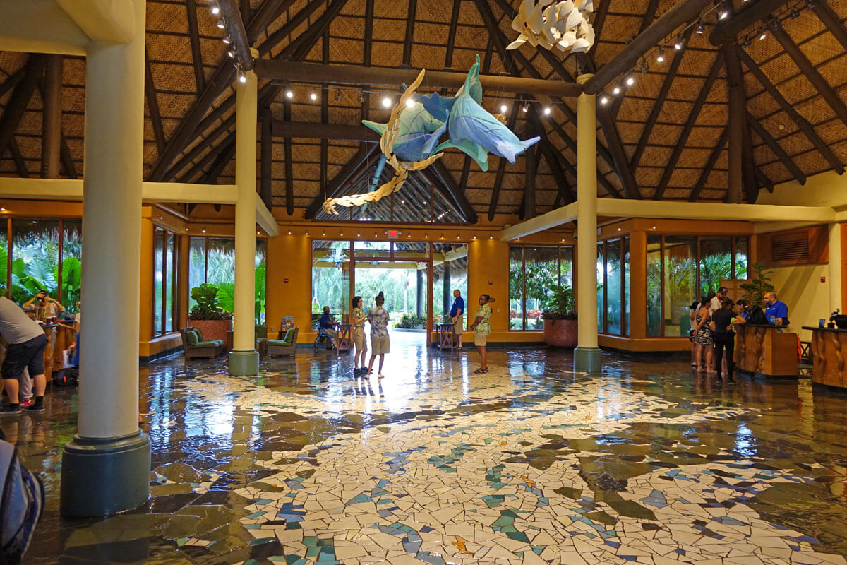 Discovery Cove - lobby