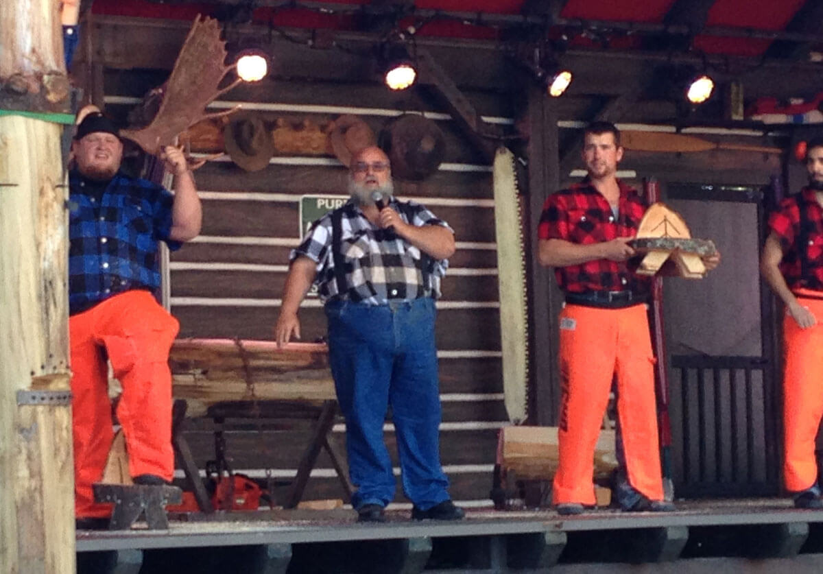 Canadian Lumberjack Show