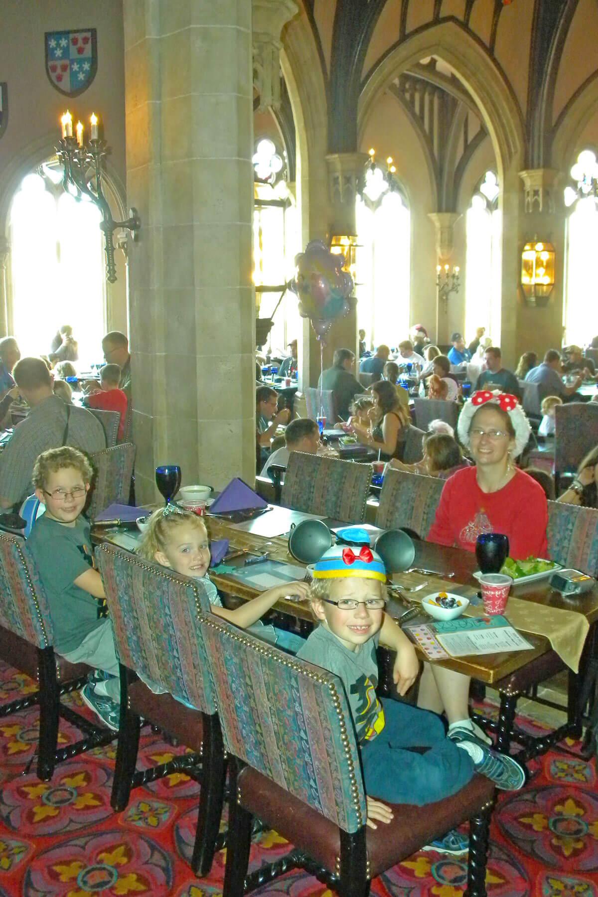 Disney World planning timeline - Cinderella's Royal Table