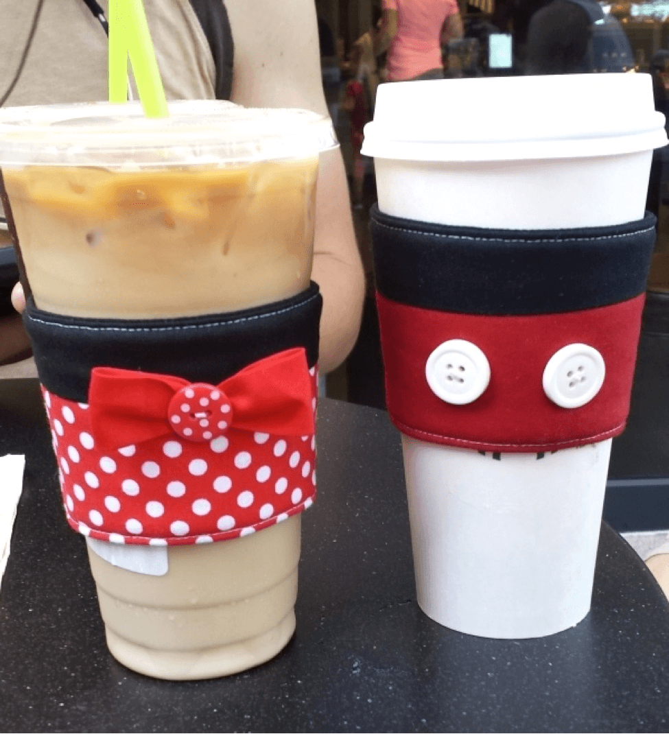 Sleeves Cup Tourist Cutest Undercover Disney Coffee htdQrs