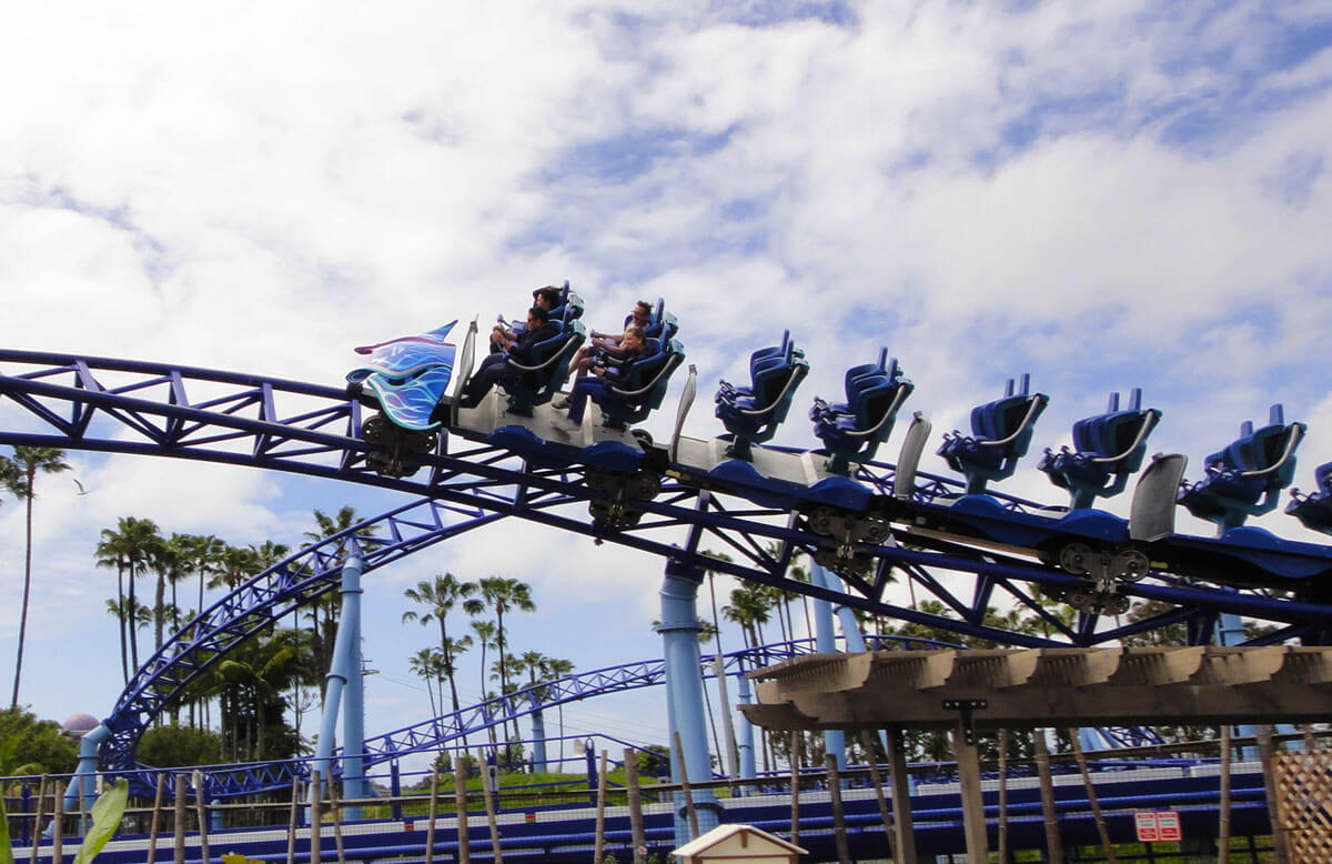 Maximize your time at SeaWorld San Diego - Manta