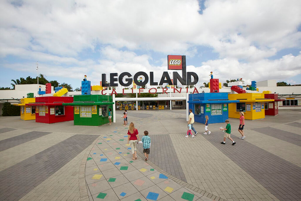 Southern California theme parks by age - LEGOLAND California